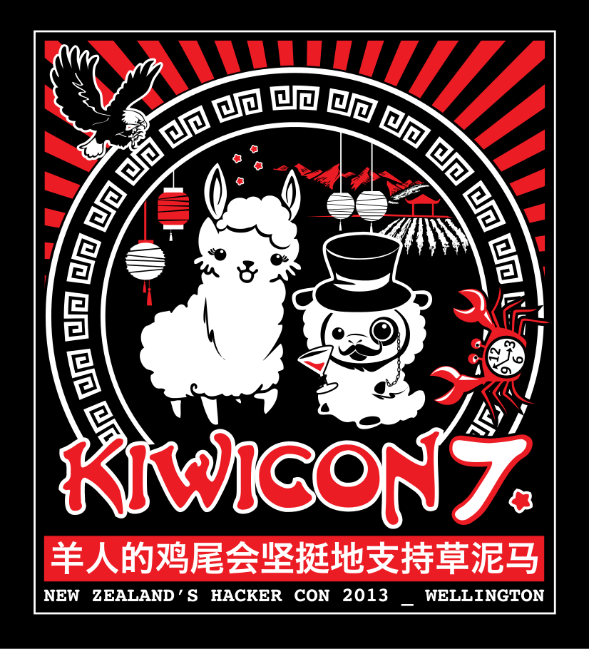 Kiwicon 7 core art